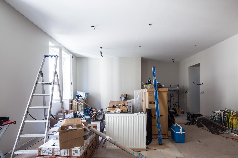 Rénovation d'un appartement à Grenoble (Avant)